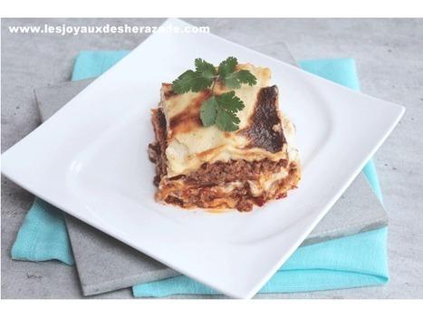 Lasagnes à la bolognaise | Les recette de les joyaux de sherazade | Scoop.it
