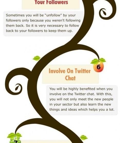 Twitter : 10 conseils pour augmenter le nombre de ses abonnés | #TonUpdate | Médias sociaux (Twitter + Facebook) | Scoop.it