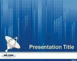 Plantillas Comunicaciones para Power Point Gratis | Plantillas PowerPoint Gratis | redes | Scoop.it