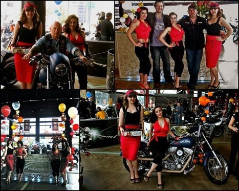 Fraser Motorcycles Pin Ups and Pistons Event 2011 – Vintage Allsorts | Vintage Antique Motorcycles | Scoop.it