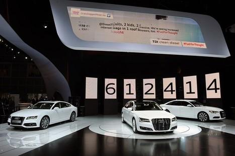 Audi torques the floor in LA with four new TDI oil burners | Actualité Audi | Scoop.it