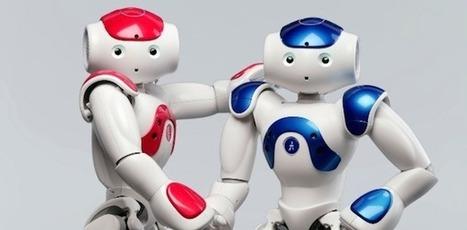 Des robots français font leur entrée dans une bibliothèque américaine   Robots & Artificial intelligence   Scoop.it