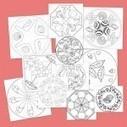 Mandalas para colorear en verano - Escuela en la nube   Recursos para Infantil y Primaria   Recursos Infantil   Scoop.it