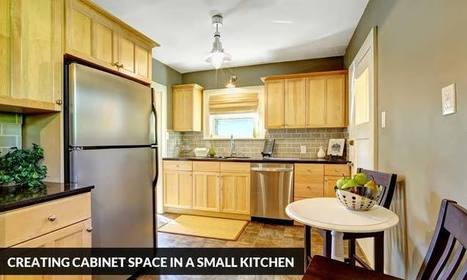 Creating Cabinet Space in a Small Kitchen | Kitchen Solvers Franchise | Home Improvement Franchise | Scoop.it