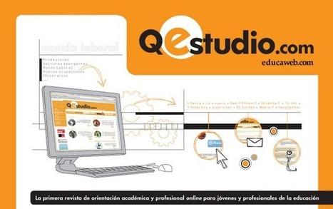 Qestudio.com revista de orientación académica y profesional online -  vía @jhergony | Revistas de educación matemática | Scoop.it