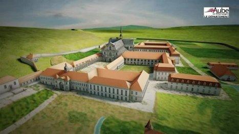 Des images en 3D pour les 900 ans de l'abbaye cistercienne de Clairvaux - France 3 Champagne-Ardenne | SCOOP IT COLLEGE JEAN MONNET JANZE | Scoop.it