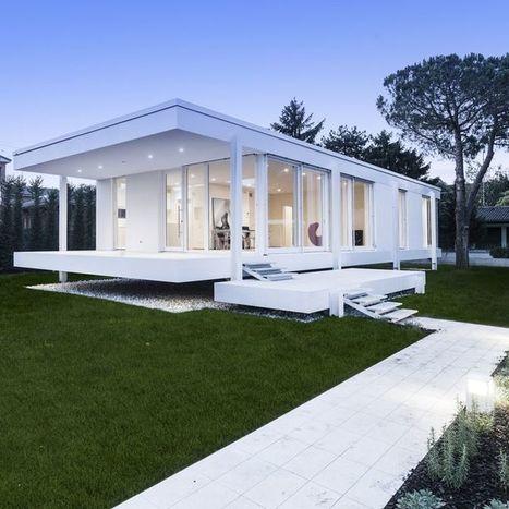 Farnsworth House Like, par ARCStudio Perlini | Architecture pour tous | Scoop.it