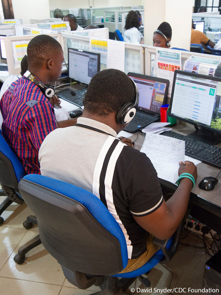 CDC Global Health - Stories - 1-1-7 Ebola Call Center | New Age Healthcare! | Scoop.it