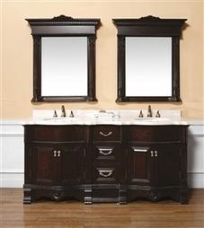 James Martin Rocca Double Marble Top Vanity   Home Decoration   Scoop.it