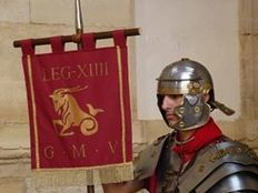 El estandarte de la Legio XIIII G.M.V. | LVDVS CHIRONIS 3.0 | Scoop.it