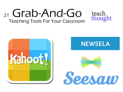 21 Grab-And-Go Teaching Tools For Your Classroom | An Eye on New Media | Scoop.it
