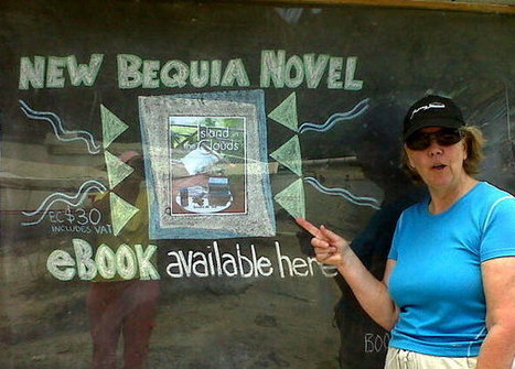 """On Bequia - More satisfied readers of """"Island in the Clouds""""!!! 