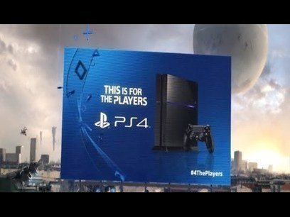 "Sony lance sa campagne ""For the Players"" pour la PS4 