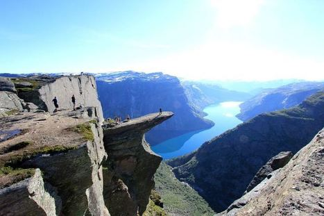 Arial View Trolltunga Norway   The Best Places in the World to Travel   Scoop.it