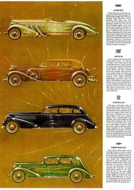 Esquire's 1935 Automobile Parade-01 | Art, photography, design, tech, culture & fashion | Scoop.it