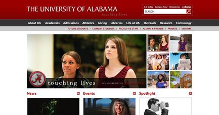 Best and Worst Design: 50 University Websites From 50 States | Design Shack | Website for educational institution | Scoop.it