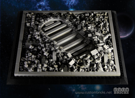 Moon Footprint LEGO Build Honors Neil Armstrong   Everything from Social Media to F1 to Photography to Anything Interesting   Scoop.it