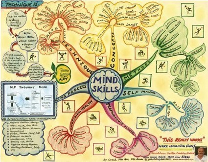 Le Mind Mapping pour progresser | Mind Mapping au quotidien | Scoop.it