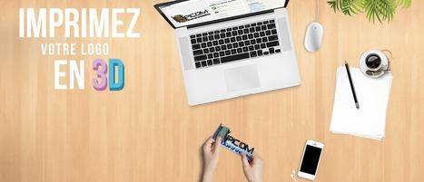 L'impression 3D au service de votre image - Mon logo 3D | Agence Web de création de site internet Webpulser Lille | Scoop.it