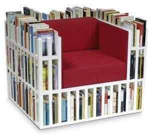 Si votre bibliothèque déborde de livres... voilà une solution : | Monde des bibliothèques | Scoop.it