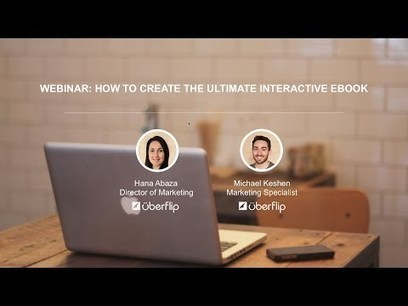Webinar: How to Create the Ultimate Interactive eBook | eBooks, Webinars and Downloads | Scoop.it