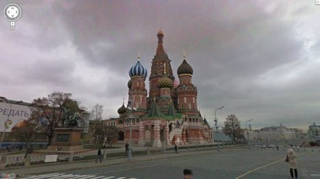 Street View finally arrives in Russia | Geospatial | Scoop.it