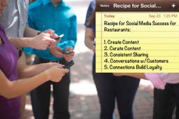 Restaurant Social Media Success - A Five Ingredient Recipe | Social Media 4 U | Scoop.it
