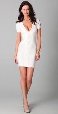 Slit-Sleeve Bandage Dress | Bandage Dress | Scoop.it