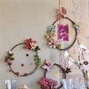 Des cadres en fil de fer fleuri | flower dreaming | Scoop.it