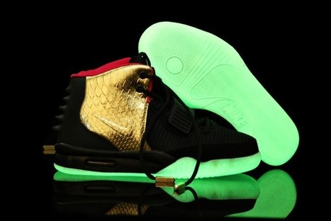 Air Yeezy 2 Glow In The Dark Shoes Black Golden Hot Sale Online | Cheap Glow In The Dark Air Yeezy | Scoop.it