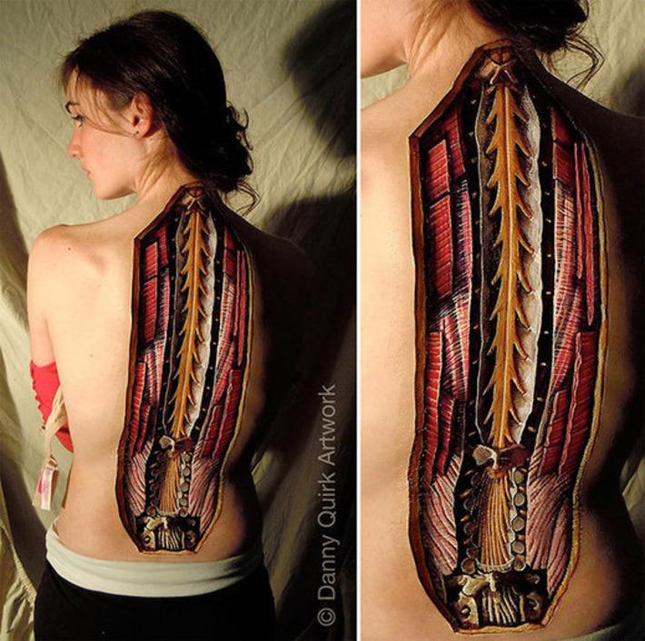 Should We Use Body Painting to Teach Anatomy?   Smithsonian   Kiosque du monde : A la une   Scoop.it