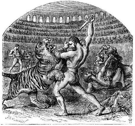 Where did gladiator fights begin? | Ave Caesar, morituri te salutant! | Scoop.it