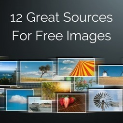 12 Sources for Free Images to Use on Your Blog and Social Media Posts | The Content Curator | Scoop.it