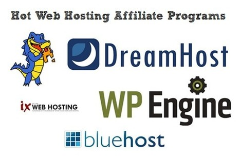 Make $50 Daily Affiliate Commission With These Hot Web Hosting Affiliate Programs | Affiliate Marketing Tips | Scoop.it