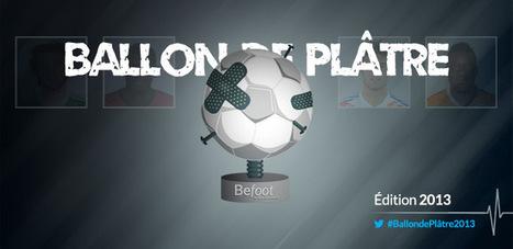 Le Ballon de Plâtre 2013 – Présentation | Befoot | Communication | Scoop.it