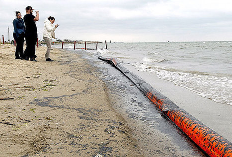 As oil comes ashore, environmental impact still unknown - Daily News - Galveston County | Oil Spill Response | Scoop.it