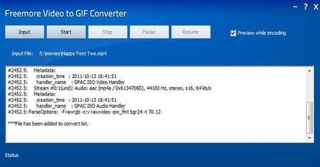 Freemore Video to GIF Converter, software gratuito para convertir vídeos en gif animados | Recull diari | Scoop.it