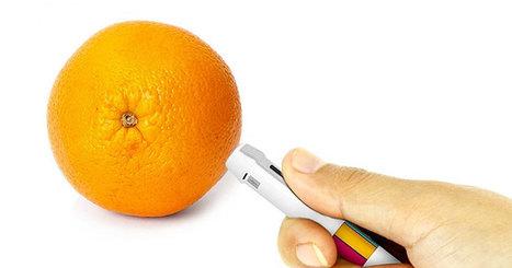 Avec cet étonnant stylo, vous pourrez capturer ... | Infographie+Web = Webdesign | Scoop.it