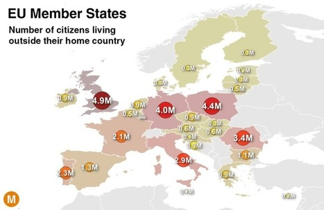 Which EU Country Has the Most Citizens Living Abroad? | Unit 2- Population and Migration | Scoop.it