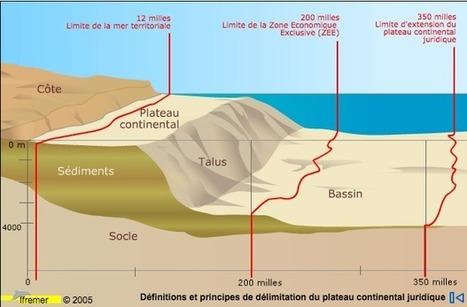 580.000 km carrés de plus grâce aux territoires d'outre-mer : la ... - Sciences et Avenir   Ressources minérales sous-marines   Scoop.it