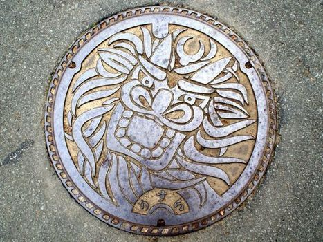 The manhole covers in Japan are absolutely beautiful | INTRODUCTION TO THE SOCIAL SCIENCES DIGITAL TEXTBOOK(PSYCHOLOGY-ECONOMICS-SOCIOLOGY):MIKE BUSARELLO | Scoop.it