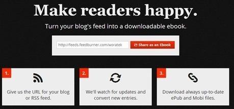 CConvertir páginas web en ebooks en formatos ePub o Mobi ...   E- learning, Culture,  Languages   Scoop.it