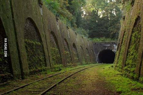 Abandoned railroad in Paris | Modern Ruins, Decay and Urban Exploration | Scoop.it