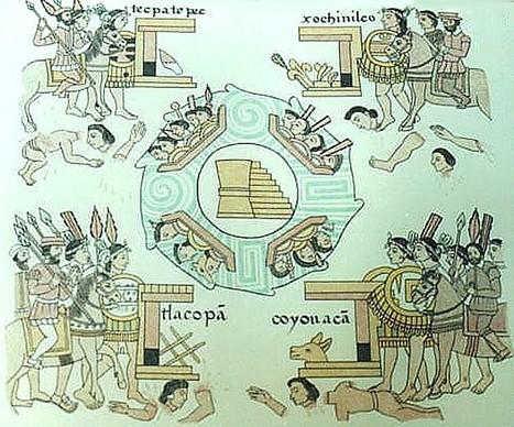 Día de los Muertos, visión azteca. | La gran Tenochtitlán y sus fundadores los aztecas | Scoop.it