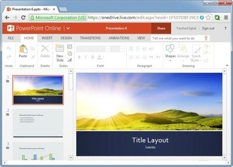How To Use Microsoft Office Online Templates Using A Browser | Free Microsoft Office Templates | Scoop.it