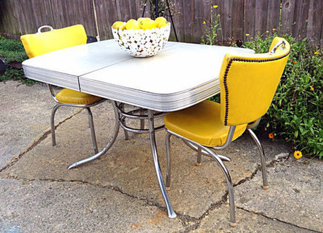1950's Formica Kitchen Table | Antiques & Vintage Collectibles | Scoop.it