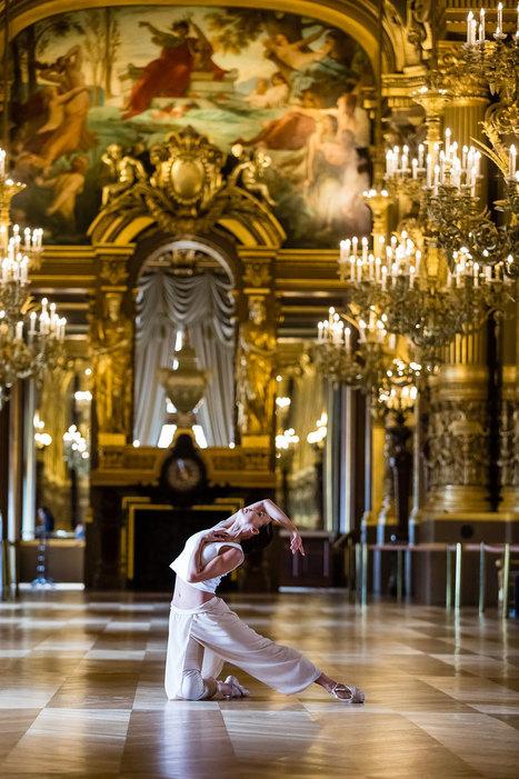 A l'Opéra Garnier, Boris Charmatz fait danser dans les couloirs | en tournée | Scoop.it