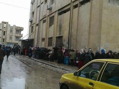 #Syria  this line to get a small portion of bread in Syria is as long as a line to get onto a rollercoaster | News from Libya | Scoop.it