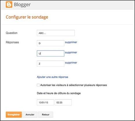 Les 10 astuces incontournables pour Blogger | Freewares | Scoop.it