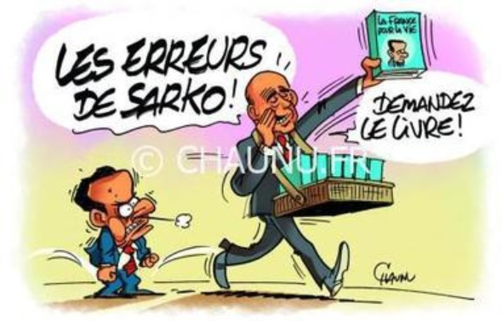 Le livre confession de Sarkozy est sorti | Baie d'humour | Scoop.it